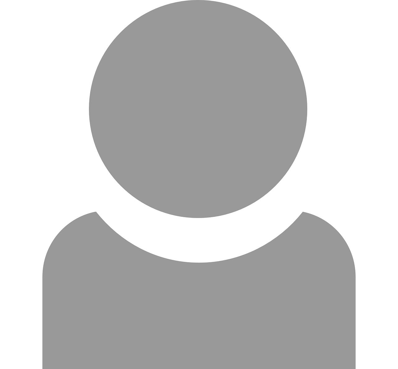 profile, man, user